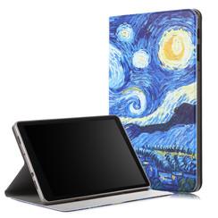 Samsung Galaxy Tab A 10.5 - Book Case with TPU cover - Sterrenhemel