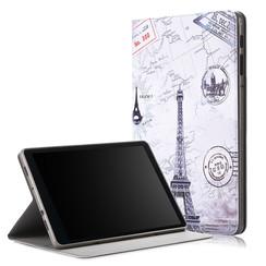 Samsung Galaxy Tab A 10.5 - Book Case with TPU cover - Eiffeltoren