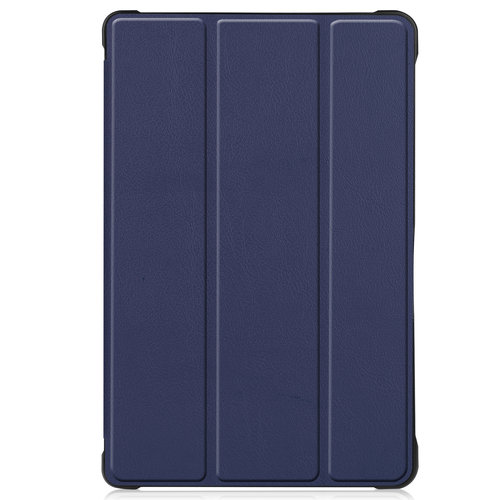 Cover2day Case for Samsung Galaxy Tab A7 (2020) - 10.4 inch - Book Case Whiteh TPU Cover - Navy Blue