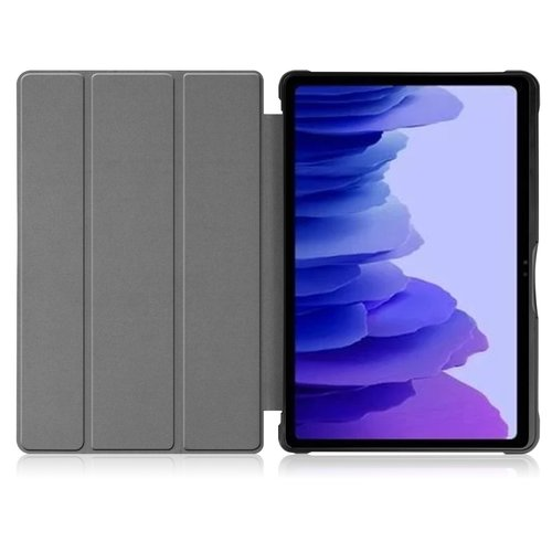 Cover2day Case for Samsung Galaxy Tab A7 (2020) - 10.4 inch - Book Case Whiteh TPU Cover - Sky Blue