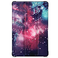 Cover2day Case for Samsung Galaxy Tab A7 (2020) - 10.4 inch - Book Case Whiteh TPU Cover - Galaxy