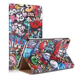 Xiaomi Mi Pad 4 8.0 - Book Case with TPU cover - Graffiti