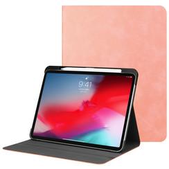 Apple iPad Pro 11 (2018) hoes - PU Leer Folio Book Case - Roze