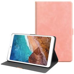 Xiaomi Mi Pad 4 Plus hoes - PU Leer Folio Book Case - Roze