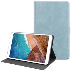 Xiaomi Mi Pad 4 Plus hoes - PU Leer Folio Book Case - Licht Blauw