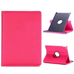 Case for iPad Air (2013) - 360 Degree Rotation Stand Cover - Magenta