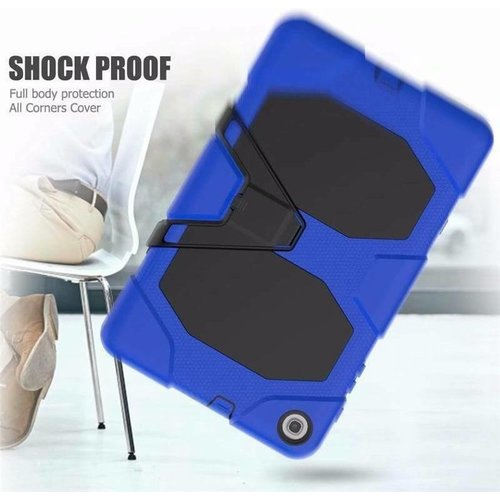 Cover2day Case for Samsung Galaxy Tab A 10.1 (2019) - Heavy Duty Rugged Case - Drop Proof Protective Cover - Blue