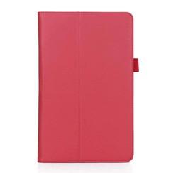 Samsung Tab A 10.5 Case - Hand Strap Book Case - Red