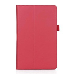 Samsung Tab A 10.5 hoes - Hand Strap Book Case - Rood