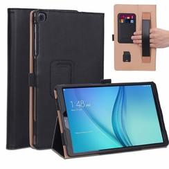 Samsung Galaxy Tab A 10.1 (2019) Case - Hand Strap Book Case - Black