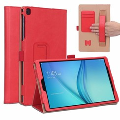 Samsung Galaxy Tab A 10.1 (2019) Hoes - Hand Strap Book Case - Rood