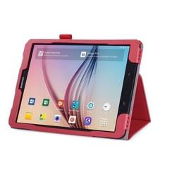 Samsung Galaxy Tab S3 9.7 Hand Strap Book Case Rood