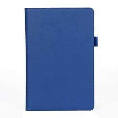 Samsung Tab S4 Case - Hand Strap Book Case - Blue
