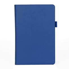 Samsung Tab S4 hoes - Hand Strap Book Case - Blauw