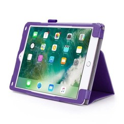iPad 9.7 - Hand Strap Book Case - Paars