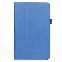 Xiaomi Mi Pad 4 Plus hoes - Hand Strap Book Case - Blauw