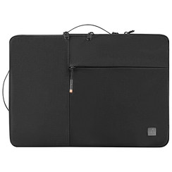 WIWU - Laptop sleeve 15.6 inch -  Alpha Double Layer Laptop & MacBook Sleeve - Black