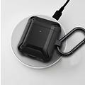 WIWU Apple Airpods 1/2 hoesje - Extreme Armor Siliconen beschermhoes - 3.0 mm - Zwart