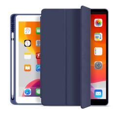 WIWU - iPad 9.7 (2017/2018) Case - PU Leren Tri-Fold Book Case - Blue