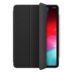 WIWU - iPad Pro 11 (2018) hoes - PU Leren Tri-Fold Book Case - Zwart