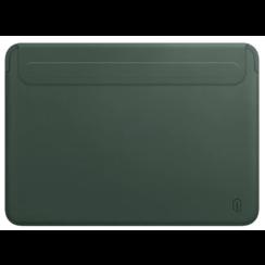 WIWU Skin Pro II - MacBook Sleeve - 12 inch - PU leer - Groen