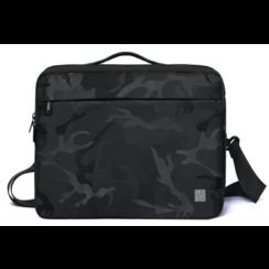 WIWU - Laptop bag for 13.3 inch laptop - Camou Transform Bag - Black