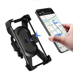 WiWU - Bicycle Phone Holder Universal Motorcycle Mobile Phone Holder Handlebar Mount