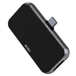 WIWU - USB C Hub HDMI T5 Pro - 4 in 1 - Alpha - Zwart