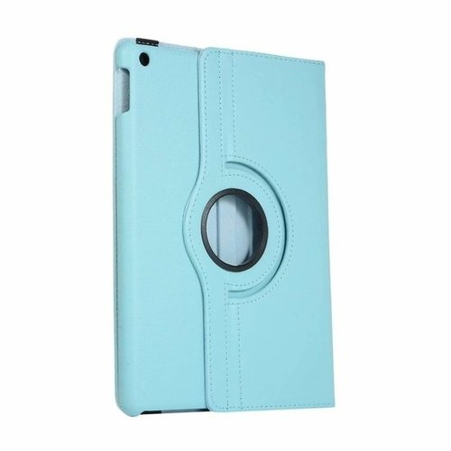 Cover2day Case for iPad (2020) 10.2 inch - 360 Degree Rotation Stand Cover - Light Blue