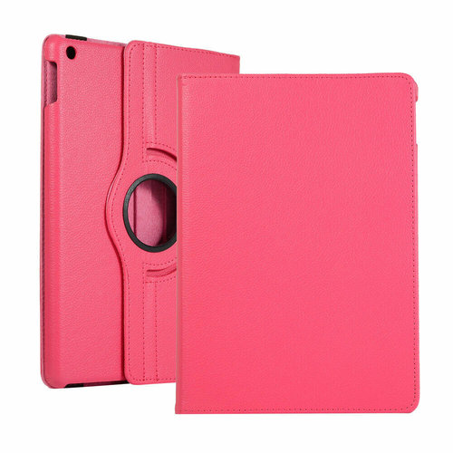 Cover2day Case for iPad (2020) 10.2 inch - 360 Degree Rotation Stand Cover - Magenta