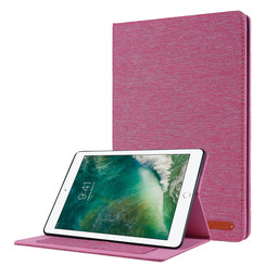 iPad 2020 hoes - 10.2 inch - Book Case met Soft TPU houder - Roze