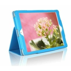 iPad 2020 hoes - 10.2 inch - Flip Cover Book Case - Licht Blauw