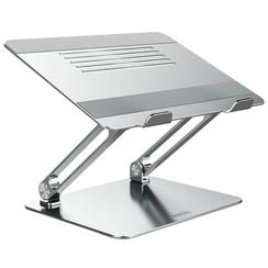 Nilkin - ProStand Ergonomic Table stand - Aluminium - Silver