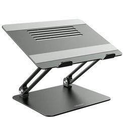 Nilkin - ProStand, ergonomic table stand, aluminium - Aluminium - Zwart