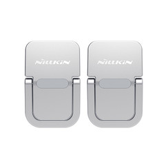 Nillkin - Laptop Stand - Laptop Stand - Foldable & Ergonomic - Also as Support for Tablets and Smartphones - Up to 17 inch - Zilver
