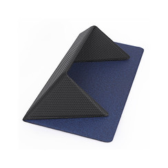Nillkin - Laptop Stand - Laptop Stand - Mouse Pad - Foldable & Ergonomic - Compact & Unfoldable - 11.6 to 15.6 inch - Blue