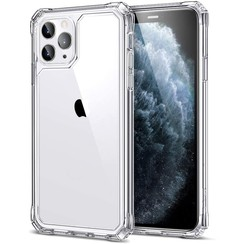 ESR Air Armor - iPhone 12 Pro Max Hoes - Schokbestendige Back Cover - Extreme TPU Back Cover - Transparant