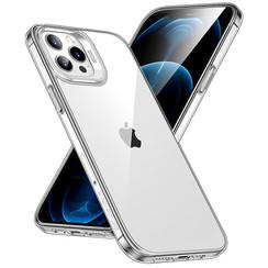 ESR Classic Hybrid - iPhone 12 / iPhone 12 Pro Hoes - Schokbestendige Back Cover - Soft TPU Case - Transparant