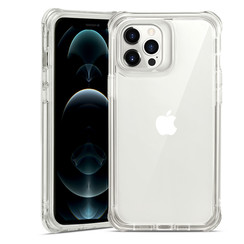 ESR Alliance - iPhone 12 / iPhone 12 Pro Hoes - Schokbestendige Back Cover - Full Body Protection - iPhone Hoes +2 Gratis Screenprotectors  - Transparant