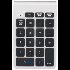 LMP - Draadloos Numeriek Numpad  - Bluetooth - 21 toetsen - Nexgen Keypad - Mac Edition OS X - Aluminium - Zilver