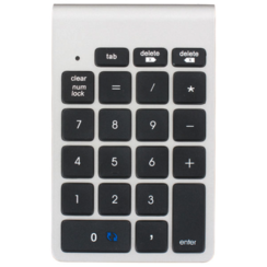 LMP - Wireless Numeric Numpad - Bluetooth - 21 keys - Nexgen Keypad - Mac Edition OS X - Aluminum - Silver
