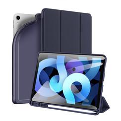Dux Ducis - iPad Air 4 10.9 hoes - Osom Tri-Fold Book Case met Pencil houder - Blauw