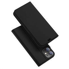 iPhone 12 / 12 Pro hoesje - Dux Ducis Skin Pro Book Case - Zwart