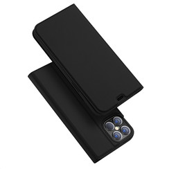 iPhone 12 Pro Max hoesje - Dux Ducis Skin Pro Book Case - Zwart