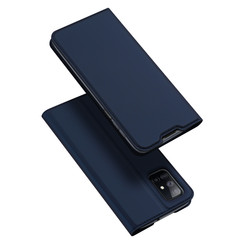 Samsung Galaxy M51 hoesje - Dux Ducis Skin Pro Book Case - Blauw
