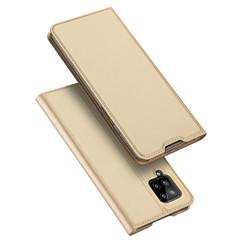 Samsung Galaxy A42 5G hoesje - Dux Ducis Skin Pro Book Case - Goud