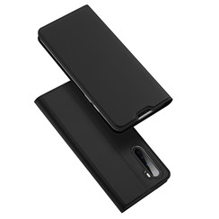 Dux Ducis - Case for OnePlus Nord - Ultra Slim PU Leather Flip Folio Case with Magnetic Closure - Black