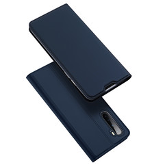 Dux Ducis - Case for OnePlus Nord - Ultra Slim PU Leather Flip Folio Case with Magnetic Closure - Blue