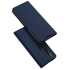Dux Ducis - Case for Sony Xperia 5 II - Ultra Slim PU Leather Flip Folio Case with Magnetic Closure - Blue