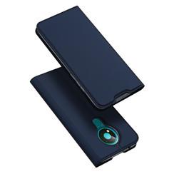 Dux Ducis - Case for Nokia 3.4 - Ultra Slim PU Leather Flip Folio Case with Magnetic Closure - Blue